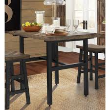 alaterre furniture pomona 36 in h brown reclaimed wood counter