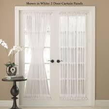 united curtain company batiste semi sheer door panel atg door