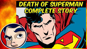 death superman 1992 doomsday superman complete story