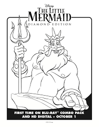 the little mermaid coloring pages free downloads lady and the blog
