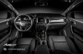 ford ranger 2017 interior ms rt and carlex design interior ford ranger valentino rossi