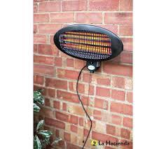 buy la hacienda wall mounted patio heater at argos co uk your