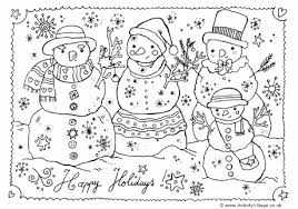 coloring page snowman family interesting idea snowman family coloring pages inofations for your