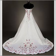 red and white corset wedding dresses pftm dresses trend