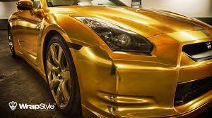 nissan gtr usain bolt nissan gt r gold edition by wrapstyle