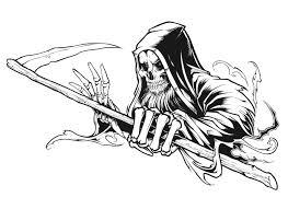 thrasher magazine grim reaper concept behance