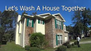2 stories house 2 story house wash important pressure wash business info youtube