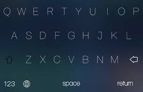 themes color keyboard is there a way to get a keyboard like this on ios 7 1 2 because