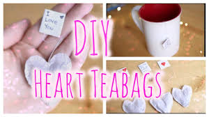 heart shaped tea bags diy heart shaped tea bags