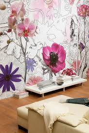 best 25 purple wall stickers ideas only on pinterest girls i like the idea of doing watercolor or graffiti flowers as wall accent aj