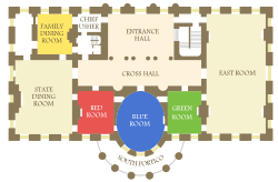 floor plan of the white house executive residence wikipedia
