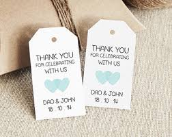 wedding tags pdf printables for wedding invitations gift tags by thediystore