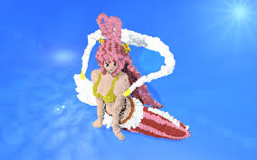 shirahoshi mermaid princess minecraft project