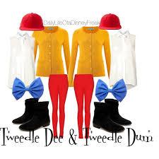 Tweedle Dee And Tweedle Dum Costumes Tweedle Dee And Tweedle Dum Polyvore