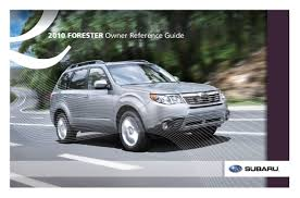 2010 subaru forester owners manual just give me the damn manual