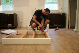 Installing A Kitchen Island How To Install Island Cabinets On Tile Floor Functionalities Net