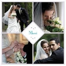 faire part de remerciement mariage carte de remerciement mariage bouquet 4 photos by marion bizet