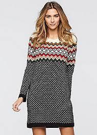 fair isle sweater dress cheap jumper dresses affordable knitted dresses bonprix