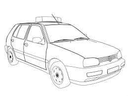 free police car coloring sheets golf pages robot police