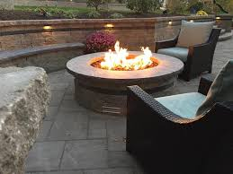 Landscape Fire Features And Fireplace Image Gallery Read About Our Landscape Design Process