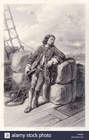 captain lemuel gulliver at sea on his merchant ship from french