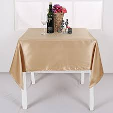 tablecloth for 54x54 table amazon com deconovo satin polyester tablecloth solid color water