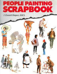 people painting scrapbook everett j draper 9780891342526