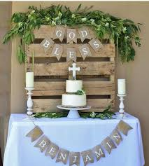 Centerpieces For Boy Baptism by Best 25 Baptism Reception Ideas On Pinterest Baptism Party
