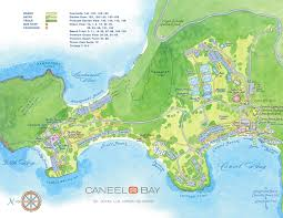 Map Of Virgin Islands Virgin Islands Resort Caneel Bay Resort St John