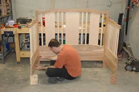 building a baby crib plans diy free download free bar chair plans