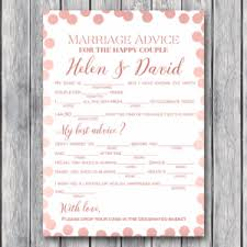 Marriage Advice Cards For Wedding Wedding Games Archives Bride Bows