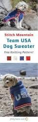 stitch mountain team usa dog sweater free knitting pattern free