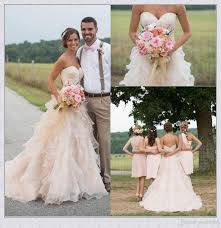 country wedding dresses blush pink country wedding dresses with ruffles sweetheart