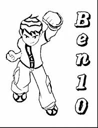 impressive ben coloring book ben 10 coloring pages