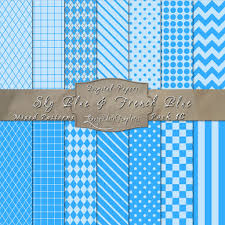 Mixed Patterns by Sky Blue U0026 French Blue All In 1 Pattern Pack