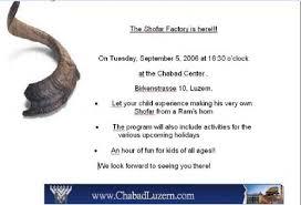 shofar factory shofar factory chabad central switzerland zentralschweiz
