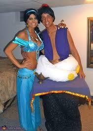 aladdin u0026 jasmine couples halloween costume photo 3 3