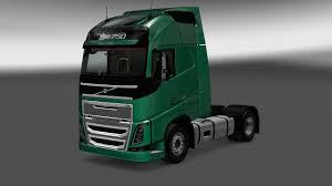 volvo hd trucks volvo fh16 2012 interior exterior rework v1 1 mod euro truck