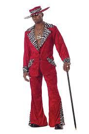 Usa Halloween Costume Amazon Com California Costumes Men U0027s Pimp Costume Clothing