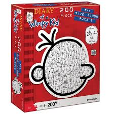pressman 200 diary of a wimpy kid pal size