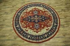 Round Traditional Rugs Patchwork Round Traditional Persian Oriental Area Rugs Ebay