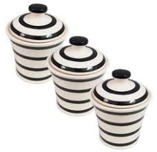 tag black white kitchen ceramic storage canisters jars set tea