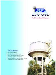 water tank analysis design u0026 detailing software structural load