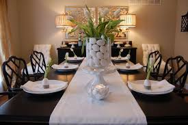 dining table arrangements trend dining room table decor with centerpiece ideas for dining