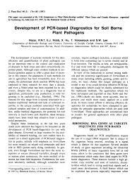 bureau pcr development of pcr based diagnostics for pdf available