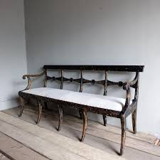 swedish antique bench u203a puckhaber decorative antiques
