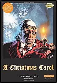 a christmas carol the graphic novel sean michael wilson charles