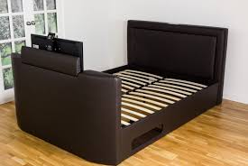 Bed Frame With Tv Built In Tv Bed With Built In Bluetooth Sound System Or King