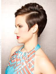 how to stye short off the face styles for haircuts faux french twist simple off the face look side view short hair