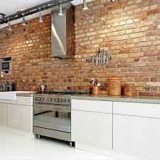 Kitchen Feature Wall Ideas Best 25 Brick Wall Kitchen Ideas On Pinterest Exposed Brick